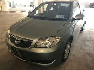 Toyota vios V2 1.5 auto 2007
