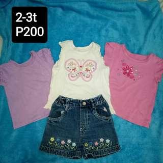 Preloved kid's apparel