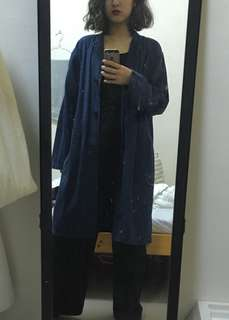🚚 Uniqlo棉麻薄大衣