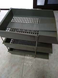 Retro 3-tier paper tray