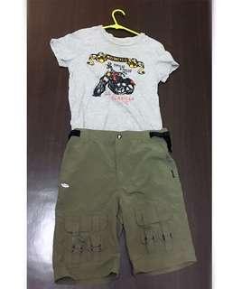 🚚 男童褲裝(120cm)不議