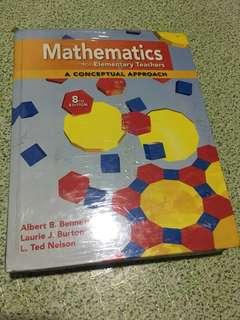 Math lecture book
