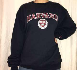 Vintage champion Harvard sweater