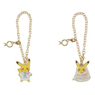 [PO] Pokemon Center Exclusive Pikachu Charm Set Precious Wedding