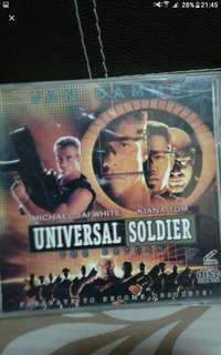 VCd Vcd sale Buy 2 get 1 free!   English  Universal soldier  During the Vietnam War, soldier Luc Deveraux (Jean-Claude Van Damme) finds that his superior officer, Andrew Scott (Dolph Lundgren), has turned violently deranged,
