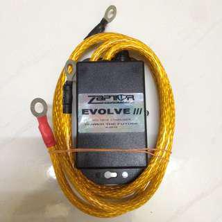 Zaptor Voltage Stabilizer Evolve lll With Grounding Cable