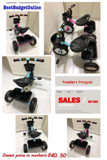 🚚 Toddler's Tricycle
