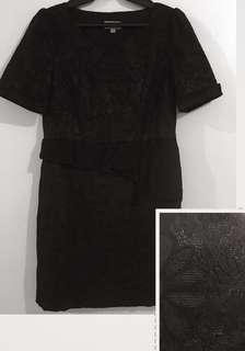 Black Lace Dress @120