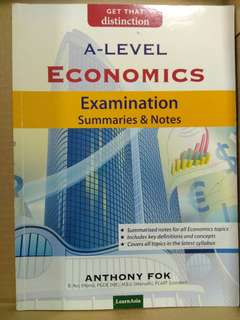 Economics: Exam Summaries and Notes