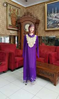 Gamis ungu M