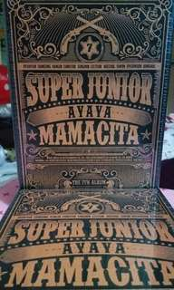 SUPER JUNIOR Mamacita Ver A