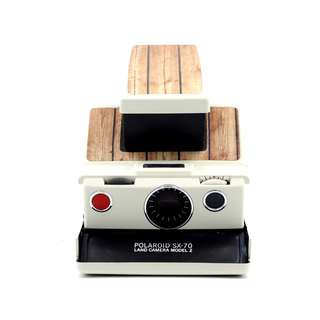 Polaroid SX-70 Wooden Camera