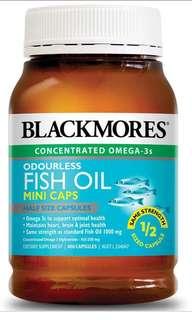 BN Blackmores Fish Oil Mini Caps