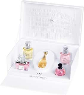 【instock】Dior Miniature perfume collection