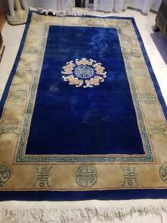 Carpet In Silk and Wool