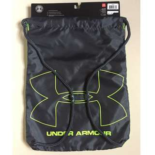 Authentic Under Armour Reversible Ozsee Sackpack Bag Green