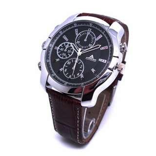Spy Watch Camera HD Leather