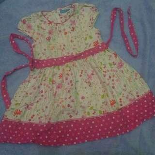 Dress anak Pink 1,5th - 2th