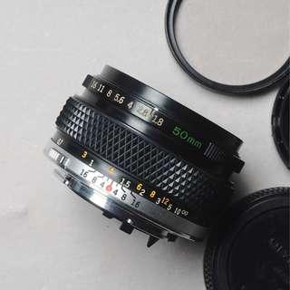 lensa olympus g zuiko s 50mm f1.8 mulus tajam