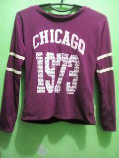 Chicago Long sleeve 1973