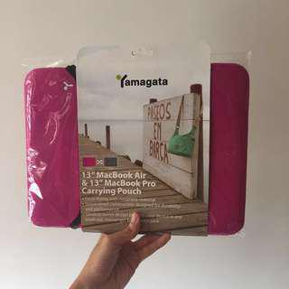 """13"""" MacBook Air/Pro Carrying Pouch By Yamagata 電腦套"""