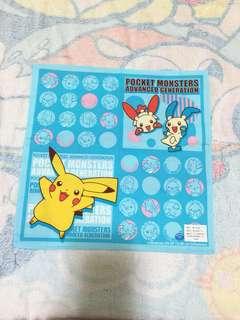Pocket Monsters 手巾 (Brand new 全新)