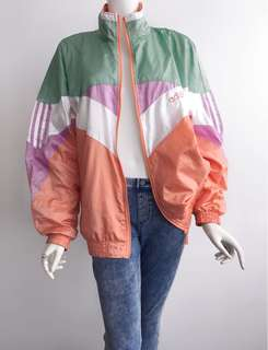 Auth Adidas multicolored jacket