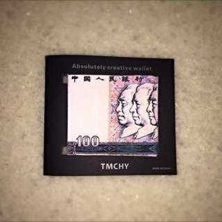 Mighty Paper Wallet 人民幣造型特色紙錢包