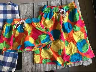 🚚 情侶海灘褲 情侶短褲 夏天休閒運動