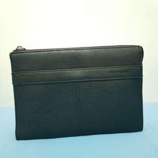 Tas dompet clutch for men merk HUSH PUPPIES original 100%