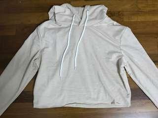 apricot crop hoodie