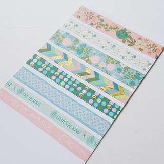 🚚 honeydew crafting Washi Tapes