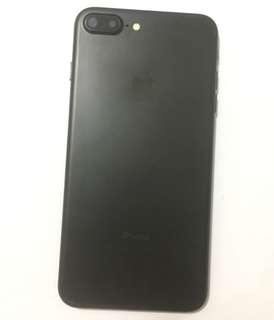 iphone7plus 128g Matt black 98%new iPhone 7plus iphone7 Plus (7plus003)