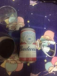 百威充電器尿袋power bank Budweiser