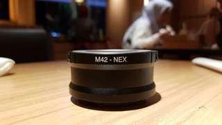 Converter / Adapter M42 lens to Sony Nex body