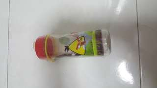Angry bird water bottle