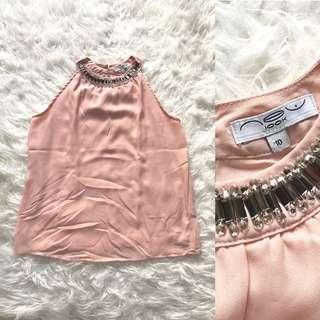 NEW LOOK embellishment top