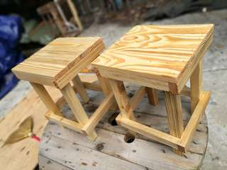 Natural Wood Design Chair