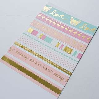 🚚 Washi Tapes-Town chic