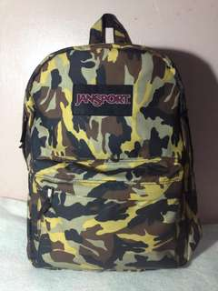 Jansport replica made of original materials.