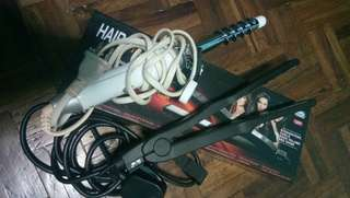 JML Professional Hair Straightener with FREE Curler
