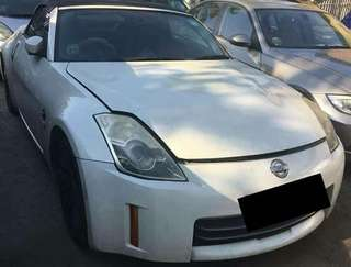 Nissan Fairlady  350z roadster (roof cant open)