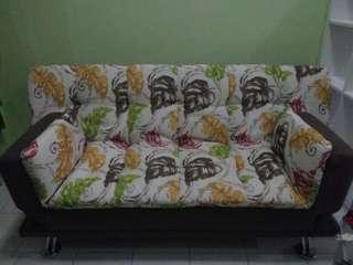 Sofa bed, sofa.