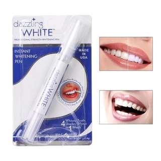 Pure white teeth whitening pen