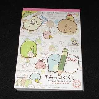 San-X 日本正版 Sumikko Gurashi 角落生物 讀書系列 Memo紙
