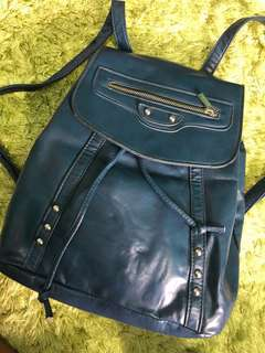 Parisian Leather Backpack