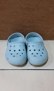 Croc blue shoe original