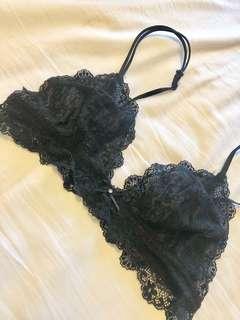 Pretty lace bralette