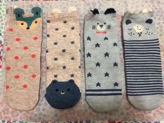 🚚 可愛造型短襪