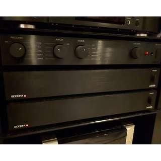 Audiolab 5.0 - 3x 8000M + 1x 8000P + 1x 8200A